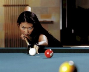 Pool Player Jeanette Lee